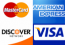 MaserCard Visa Discover American Express Accepted in 78666