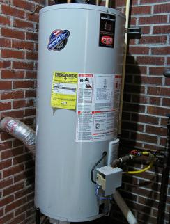 newly repaired water heater in San Marcos California